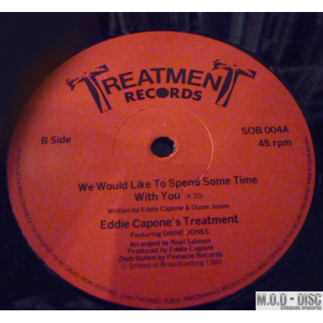 Eddie Capone's Treatment– I Won't Give You Up