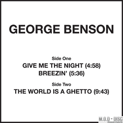 George Benson – Give Me The Night / Breezin' / The World Is A Ghetto