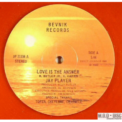 Jay Player – Love Is The Answer -red vinyl